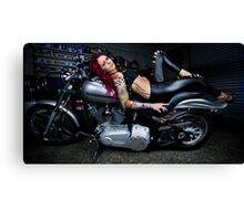 Inked Up Canvas Print