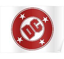 DC COMICS - CLASSIC RED LOGO Poster