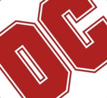 DC COMICS - CLASSIC RED LOGO Sticker
