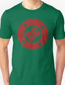 DC COMICS - CLASSIC RED LOGO Unisex T-Shirt