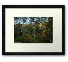Canning River Mornings Framed Print