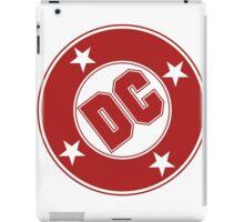 DC COMICS - CLASSIC RED LOGO iPad Case/Skin