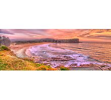 New Day Dawning - Avalon Beach, Sydney Australia - The HDR Experience Photographic Print