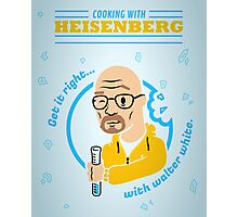 Cooking with Heisenberg Photographic Print