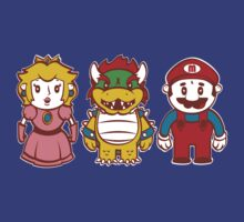 Chibi Mushroom Kingdom by Scott Weston