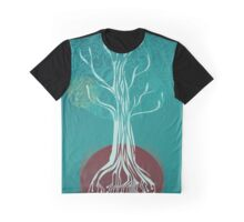 Teal Tree Graphic T-Shirt