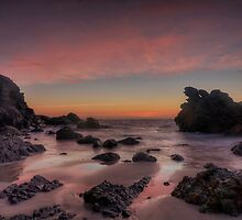 Early Light at Burgess Beach. by Warren  Patten