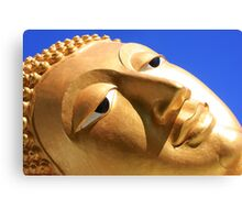 Reclining Buddha from Thailand Canvas Print