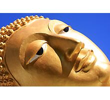 Reclining Buddha from Thailand Photographic Print