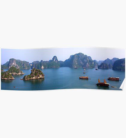 Halong Bay, Vietnam Poster