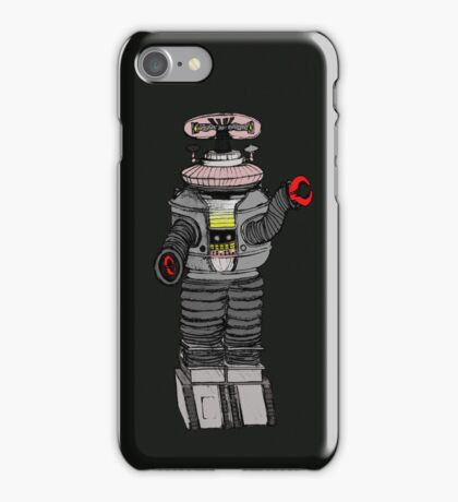 The Robot from Lost in Space! iPhone Case/Skin