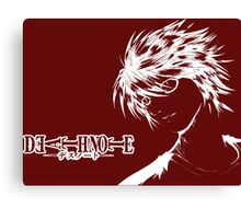 Death Note  Abstract Canvas Print