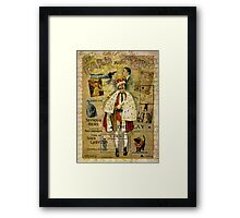 A Night on the Town Christmas Treat Framed Print