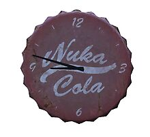 NUKA COLA CLOCK CUT OUT FALLOUT 4 by PrettyStuff