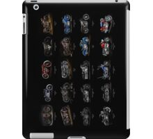 Classic Motorcycles iPad Case/Skin