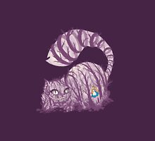 Inside wonderland (cheshire cat) Unisex T-Shirt