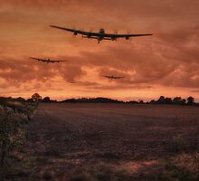 Lancaster Bomber Sorte by UKGh0sT