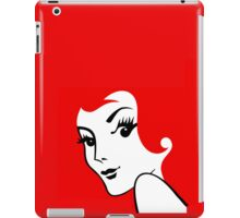 Miss Redhead [iPhone / iPad / iPod case / Tshirt / Print] iPad Case/Skin