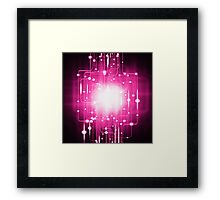 abstract technology Framed Print