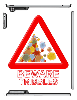 Warning tribbles by Emma Harckham