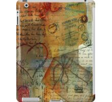 Love Letter iPad Cover iPad Case/Skin