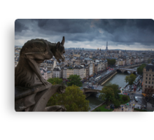 Parisian Views Canvas Print