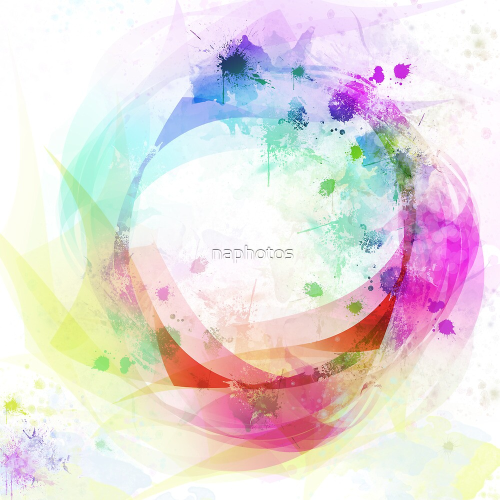 wave of circle by naphotos