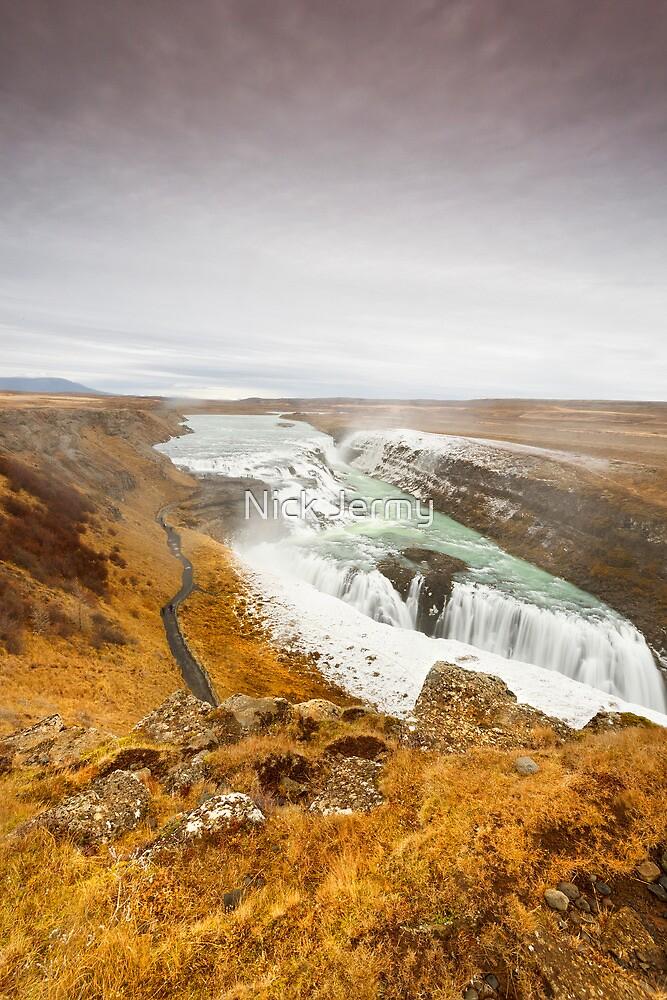 Gulfoss Falls by Nick Jermy