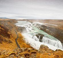 Gulfoss Falls by Nicholas Jermy
