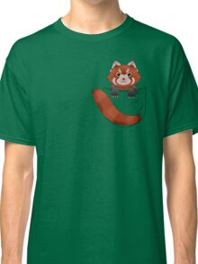 Pocket Red panda  Classic T-Shirt