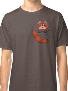 Pocket Red panda  Classic T-Shirt