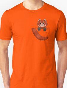 Pocket Red panda  Unisex T-Shirt