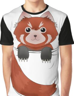 Pocket Red panda  Graphic T-Shirt