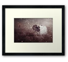 Harsh Conditions Framed Print