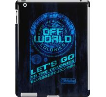 Off World iPad Case/Skin