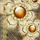 FlowerWaltz-ipadcases by coby01