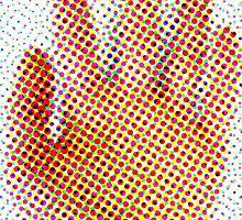 Spotty Hand by kniferobin