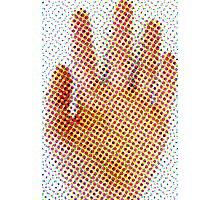 Spotty Hand Photographic Print