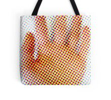 Spotty Hand Tote Bag