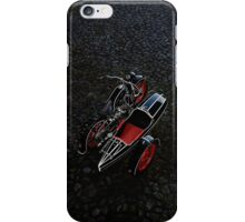 1937 BMW R12 with Zeppelin sidecar iPhone Case/Skin