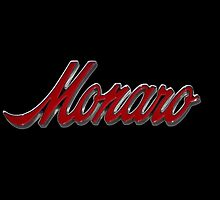 Holden Monaro Badge - Red by Clintpix