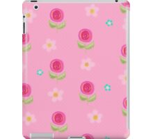 Pretty Pink Petite Flowers iPad Case iPad Case/Skin