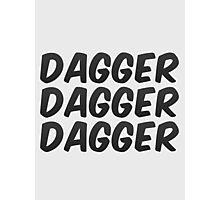 Dagger, dagger, dagger! - Critical Role  Photographic Print