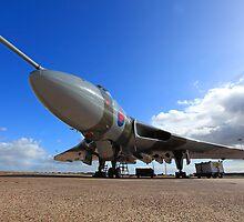 Avro Vulcan XH558 ~ Spirit of Great Britain by Clare Scott