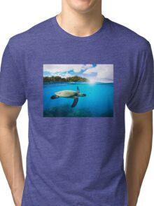 Tropical Paradise Tri-blend T-Shirt