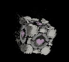 companion cube by Wimido
