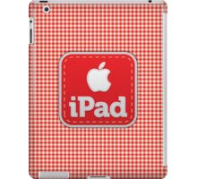 Gingham Stitched cover iPad Case/Skin