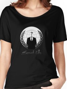 Anonymous - Expect Us Women's Relaxed Fit T-Shirt