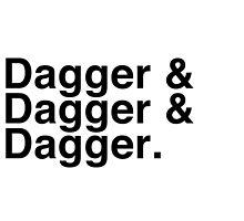 Helvetica List - Dagger Dagger Dagger - Critical Role by enduratrum