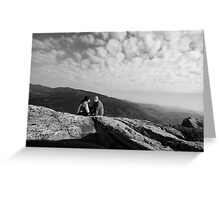 On top of the WORLD!!! Greeting Card